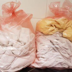 Wasserauflösbare Wäschebeutel