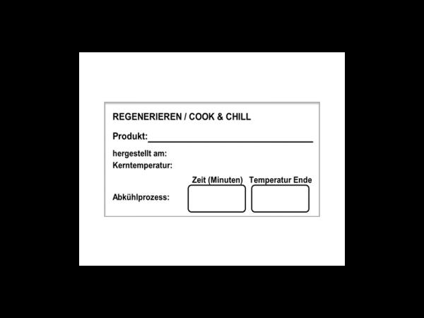 Wasserloesliche Etiketten Cook